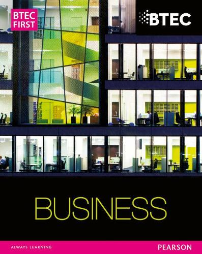 BTEC First Business Student Book - BTEC First Business (Paperback)