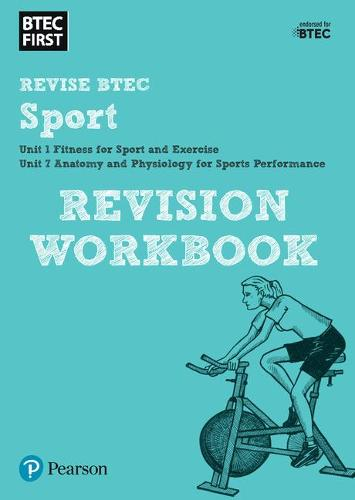 Pearson REVISE BTEC First in Sport Revision Workbook: for home learning, 2021 assessments and 2022 exams - BTEC First Sport (Paperback)