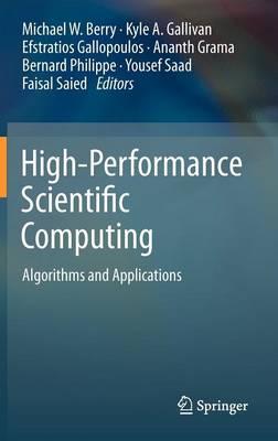 High-Performance Scientific Computing: Algorithms and Applications (Hardback)