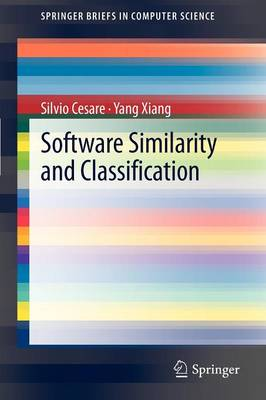 Software Similarity and Classification - SpringerBriefs in Computer Science (Paperback)