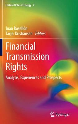 Financial Transmission Rights: Analysis, Experiences and Prospects - Lecture Notes in Energy 7 (Hardback)