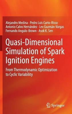 Quasi-Dimensional Simulation of Spark Ignition Engines: From Thermodynamic Optimization to Cyclic Variability (Hardback)