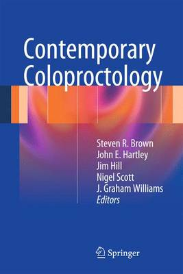 Contemporary Coloproctology (Paperback)