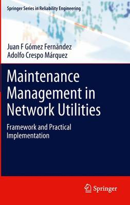 Maintenance Management in Network Utilities: Framework and Practical Implementation - Springer Series in Reliability Engineering (Paperback)