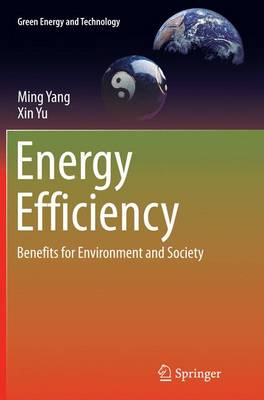 Energy Efficiency: Benefits for Environment and Society - Green Energy and Technology (Paperback)