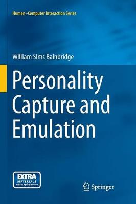 Personality Capture and Emulation - Human-Computer Interaction Series (Paperback)