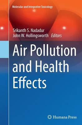 Air Pollution and Health Effects - Molecular and Integrative Toxicology (Paperback)