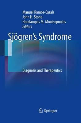 Sjoegren's Syndrome: Diagnosis and Therapeutics (Paperback)