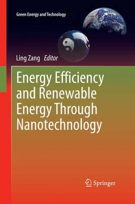 Energy Efficiency and Renewable Energy Through Nanotechnology - Green Energy and Technology (Paperback)