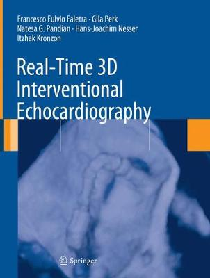 Real-Time 3D Interventional Echocardiography (Paperback)