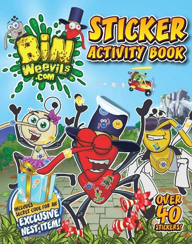 Bin Weevils Sticker Activity Book (Paperback)