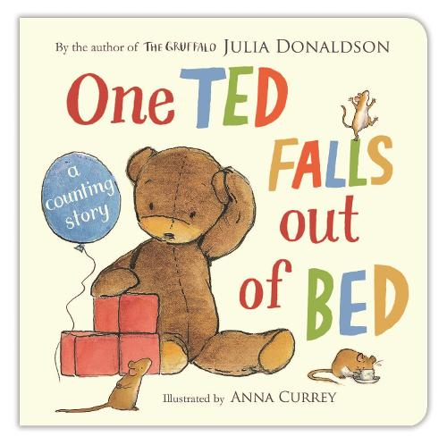 One Ted Falls Out of Bed (Board book)