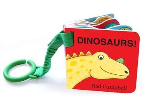 Dinosaur Shaped Buggy Book (Board book)