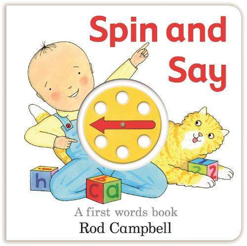 Spin and Say: A First Words Book (Board book)