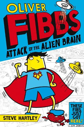 The Attack of the Alien Brain - Oliver Fibbs (Paperback)