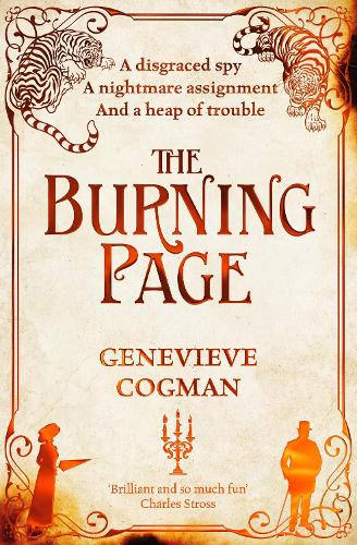 The Burning Page - The Invisible Library series (Paperback)
