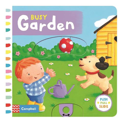Busy Garden - Busy Books (Board book)