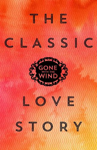 Cover of the book, Gone with the Wind.