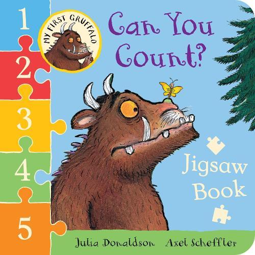 My First Gruffalo: Can You Count? Jigsaw book (Board book)