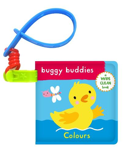 Wipe-Clean Buggy Buddies: Colours - Buggy Buddies (Bath book)