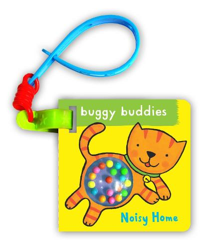 Rattle Buggy Buddies: Noisy Home (Board book)