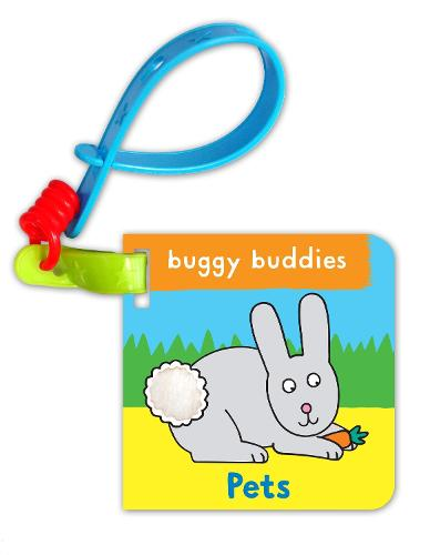 Touch & Feel Buggy Buddies: Pets - Buggy Buddies (Board book)
