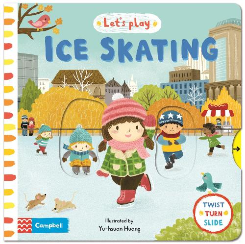 Let's Play Ice Skating - Let's Play (Hardback)