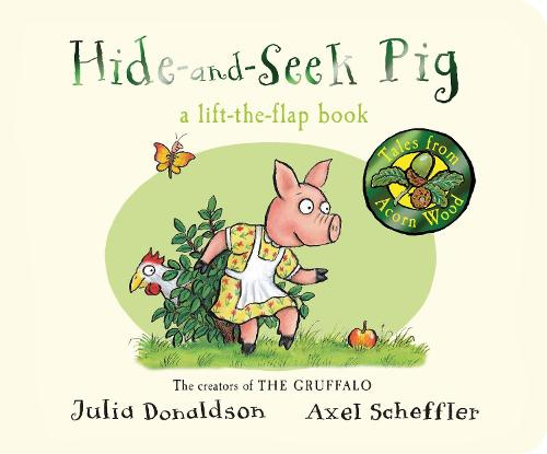 Hide-and-Seek Pig - Tales From Acorn Wood (Board book)