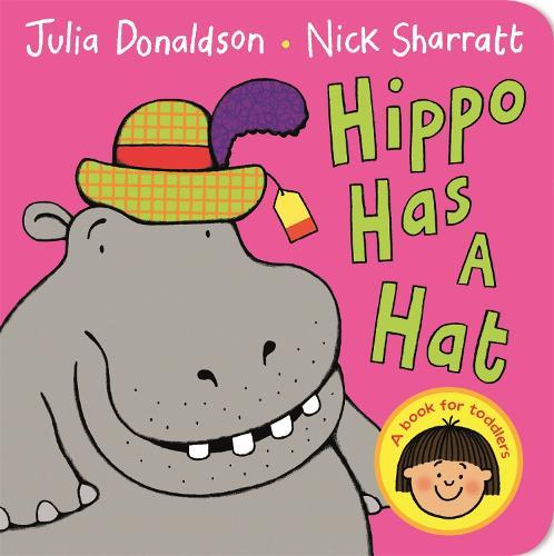 Hippo Has a Hat (Board book)
