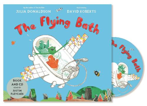 The Flying Bath: Book and CD Pack