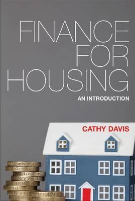 Finance for housing: An introduction (Hardback)