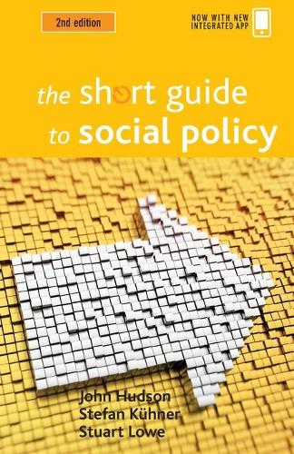 The short guide to social policy - Short Guides (Paperback)
