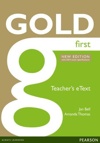 Gold First New Edition eText Teacher CD-ROM - Gold (CD-ROM)