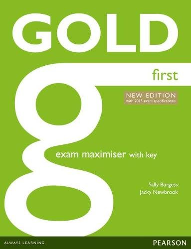 Gold First New Edition Maximiser with Key - Gold (Paperback)