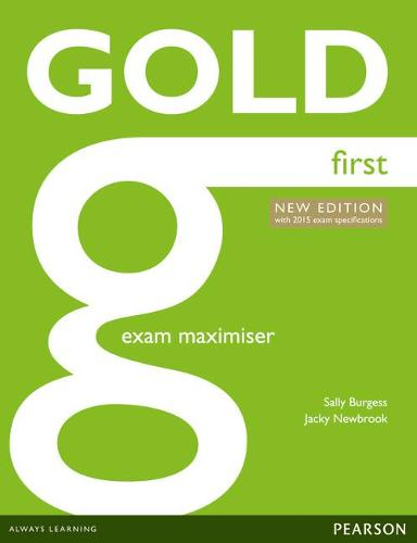 Gold First New Edition Maximiser without Key - Gold (Paperback)