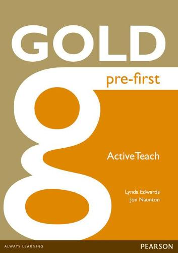 Gold Pre-First Active Teach - Gold (CD-ROM)