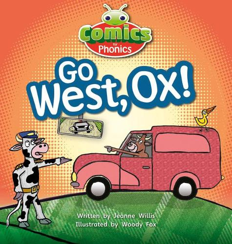 Bug Club Comics for Phonics Set 06 Red A Go West, Ox! - BUG CLUB (Paperback)