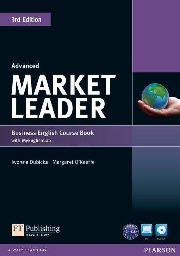 Market Leader 3rd Edition Advanced Coursebook with DVD-ROM and MyEnglishLab Access Code Pack - Market Leader
