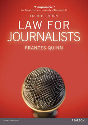 Law for Journalists (Paperback)