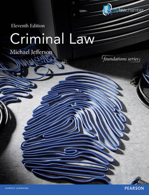 Criminal Law - Foundation Studies in Law Series (Paperback)