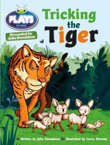 Julia Donaldson Plays Turq/1B Tricking the Tiger 6-pack - BUG CLUB