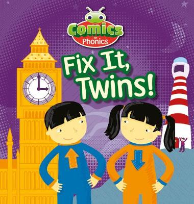 T291A Comics for Phonics Fix It Twins Red B Set 9 - Bug Club  (ESPO) (Paperback)