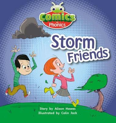 T313A Comics for Phonics Storm Friends Lilac - Bug Club  (ESPO) (Paperback)