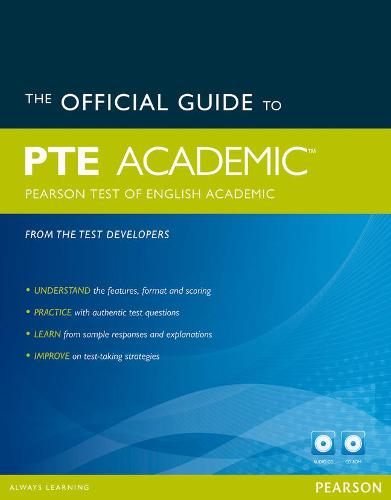The Official Guide to the Pearson Test of English Academic New Edition Pack - Pearson Tests of English