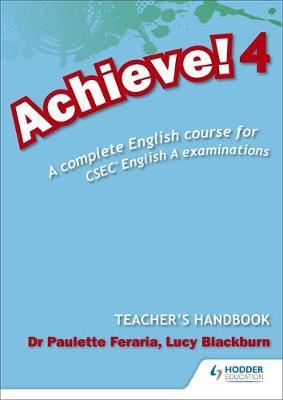 Achieve! Teacher Handbook 4: A Complete English Course for CSEC English A