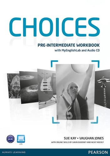 Choices Pre Intermediate Workbook + Pin Pack Benelux - Choices