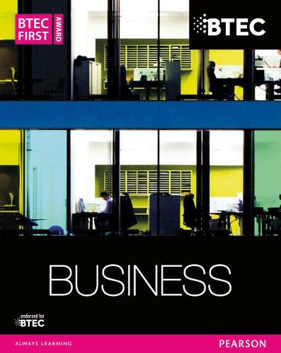 BTEC First Business Award Student Book - BTEC First Business (Paperback)