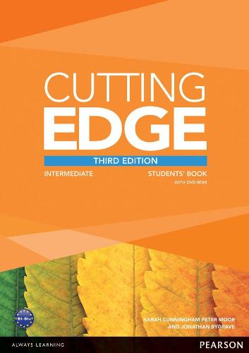 Cutting Edge 3rd Edition Intermediate Students' Book and DVD Pack - Cutting Edge