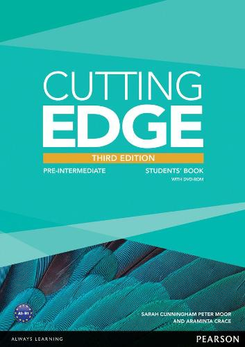 Cutting Edge 3rd Edition Pre-Intermediate Students' Book and DVD Pack - Cutting Edge
