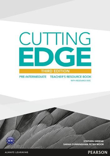 Cutting Edge 3rd Edition Pre-Intermediate Teacher's Book and Teacher's Resource Disk Pack - Cutting Edge